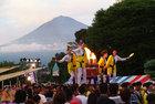 富士山御神火まつり川上り