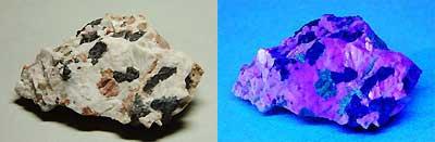 3種類の鉱物
