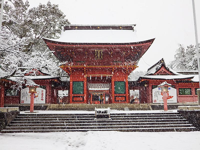 浅間大社雪景色3