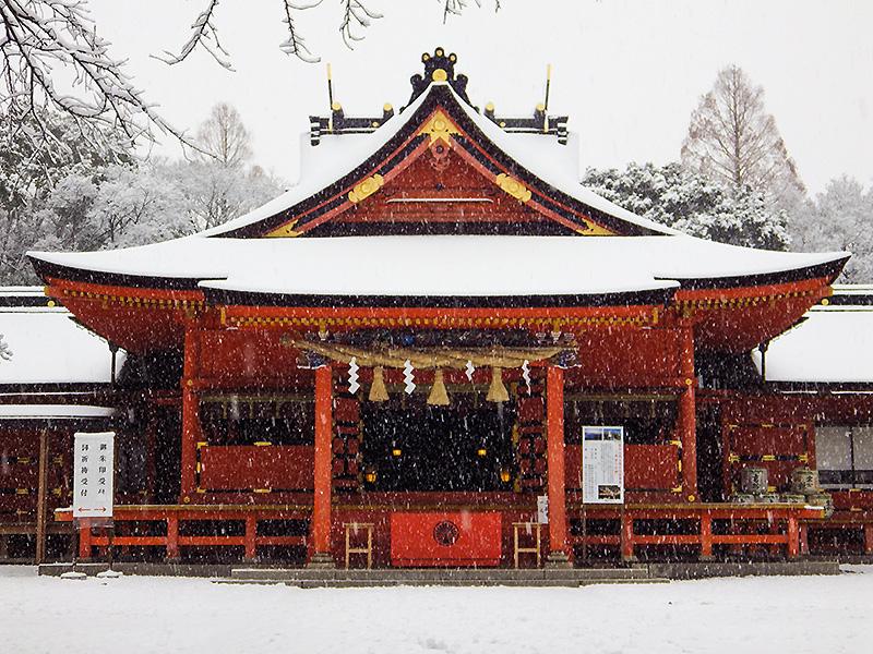 浅間大社雪景色5