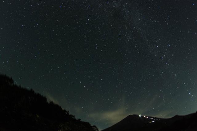 西臼塚の星空-2