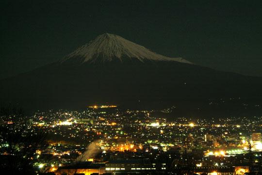 白尾山夜景
