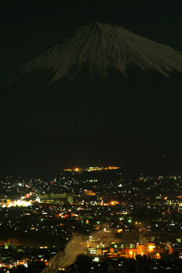 白尾山夜景2